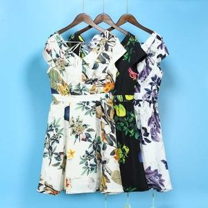 Dresses & Skirts - New floral dress purple white